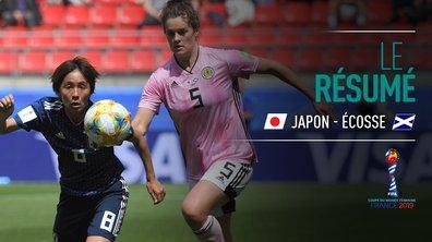 Japon - Ecosse : Voir le résumé du match en vidéo