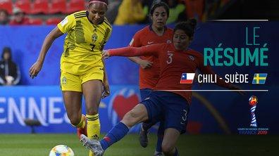Chili - Suède : Voir le résumé du match en vidéo
