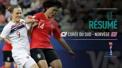 Corée du Sud - Norvège : Voir le résumé du match en vidéo