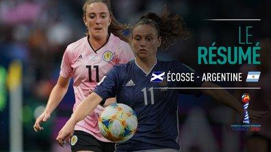 Ecosse - Argentine : Voir le résumé du match en vidéo