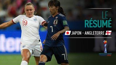 Japon - Angleterre : Voir le résumé du match en vidéo