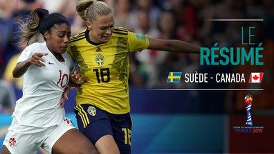 Suède - Canada : Voir le résumé du match en vidéo