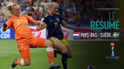 Pays-Bas - Suède : Voir le résumé du match en vidéo