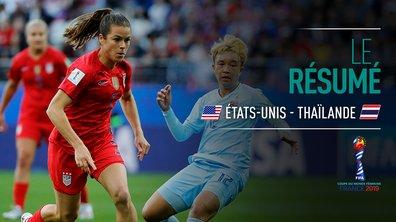USA - Thaïlande : Voir le résumé du match en vidéo