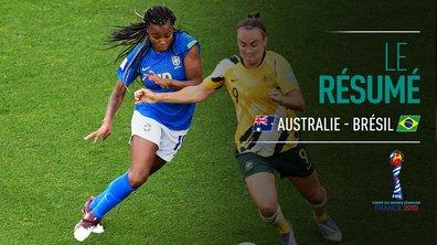 Australie - Brésil : Voir le résumé du match en vidéo
