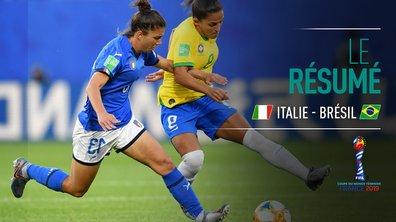 Italie - Brésil : Voir le résumé du match en vidéo