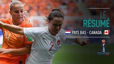 Pays-Bas - Canada : Voir le résumé du match en vidéo