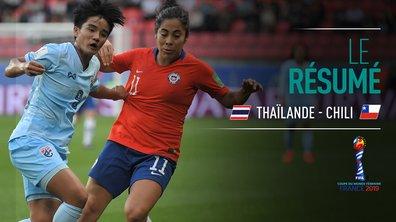 Thaïlande - Chili : Voir le résumé du match en vidéo