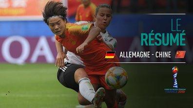 Allemagne - Chine : Voir le résumé du match en vidéo