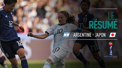 Argentine - Japon : Voir le résumé du match en vidéo