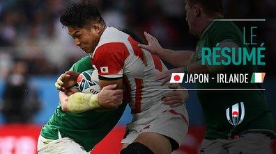 Japon - Irlande : Voir le résumé du match en vidéo