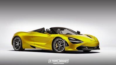 Design : La McLaren 720S Spider par X-Tomi Design