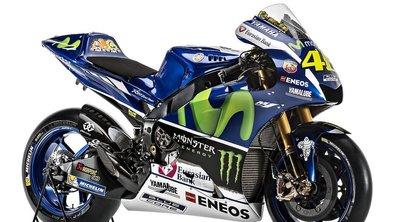 MotoGP : Yamaha dévoile l'YZR-M1 pour la saison 2016