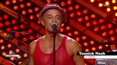 """Yannick Noah : """"Viens"""" en live pour Quotidien"""
