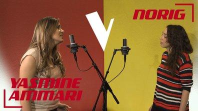 La Vox des talents : Yasmine Ammari vs Norig | Si maman si | France Gall