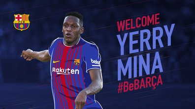 Insolite : Yerry Mina donnait 50 euros tous les jours à Messi et Suarez