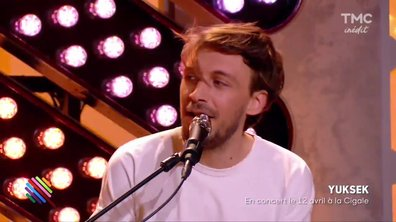 "Yuksek - ""Sunrise"" en live dans Quotidien"