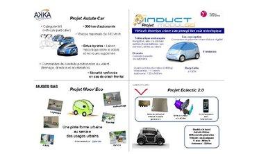 Des projets de véhicules urbains dans les Yvelines