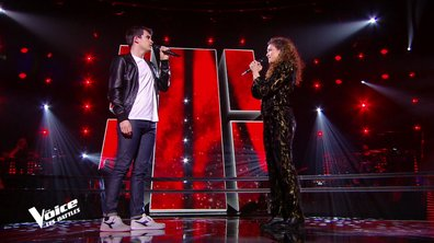 The Voice 2021 – Zacharie Dolce VS Clara Polaire chantent « Comment est ta peine » de Benjamin Biolay
