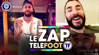 Zap Telefoot #1 : Benzema défend Germain, les footeux se défient