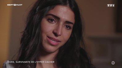 Zarie Sibony, survivante de l'attentat de l'Hyper Cacher