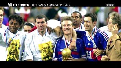 """[EXCLU Téléfoot 10/12] - Le Document Téléfoot - Deschamps revient sur l'épopée France 1998 : """"Aimé Jacquet a une place particulière dans mon coeur, il nous a amené sur le toit du monde"""""""