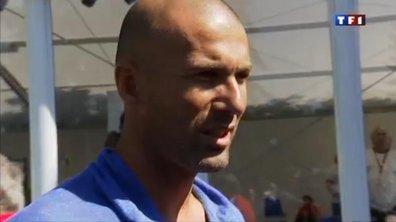 Zinedine Zidane se retrouve dans son fils Enzo