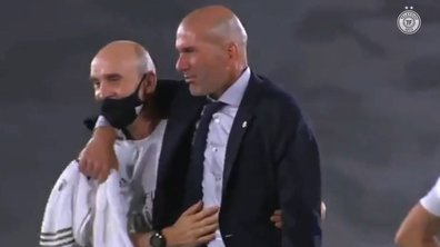 Real Madrid champion d'Espagne : Zidane en larmes !