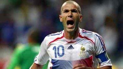 """Zidane : sa """"rage"""" contre Domenech"""