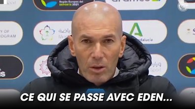 VIDEO - La mise au point de Zidane sur Hazard