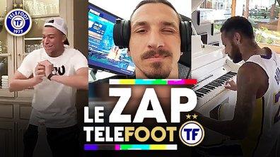 Zap Telefoot #10 : le kill fou de Zlatan sur Fortnite, Mbappé se prend pour LeBron
