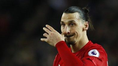 Manchester United officialise la blessure de Zlatan Ibrahimovic