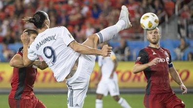 MLS - Avec son high kick à 180°, Zlatan Ibrahimovic a inscrit un 500e but d'extraterrestre (VIDEO)