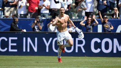 Pour son premier match avec le Los Angeles Galaxy, Zlatan a fait du Zlatan