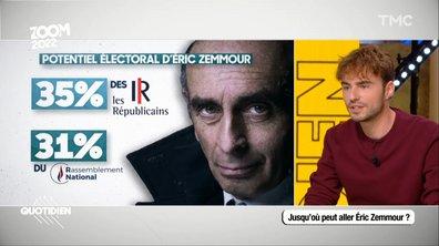 Zoom 2022 : jusqu'où peut aller Éric Zemmour ?