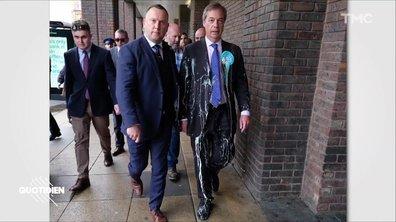 Zoom : en Angleterre, le milk-shake devient une arme de résistance anti-Brexit