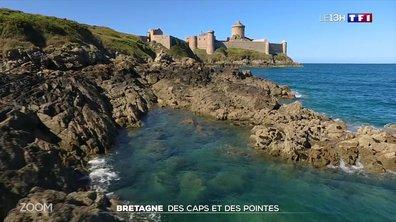 Zoom : Bretagne, des caps et des pointes