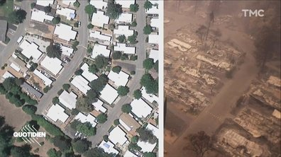 Zoom : la Californie dévastée par les flammes