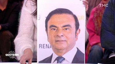 Zoom : Carlos Ghosn savait qu'il serait de nouveau arrêté