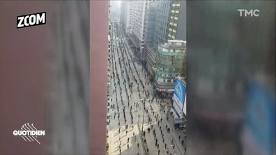 Zoom : chaîne humaine, université barricadée, … la révolte continue à Hong-Kong