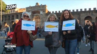 Zoom : comment la sardine est devenue un symbole politique anti-Matteo Salvini