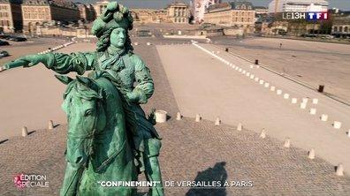 Zoom : confinement, de Versailles à Paris