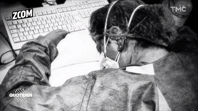 Zoom – Coronavirus : en Italie, les soignants à bout de souffle