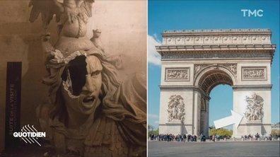 Zoom : les dégradations de l'Arc de Triomphe, une atteinte à la République ?