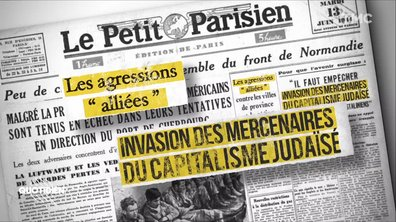 Zoom : que disait la presse collaborationniste le 6 juin 1944 ?