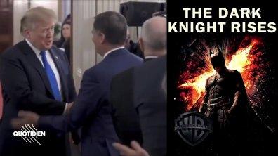 Zoom : Donald Trump a énervé Batman