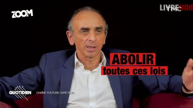 Zoom – Élection 2022 : Éric Zemmour dessine les lignes d'un programme politique