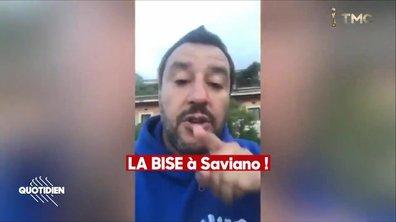 Zoom : la guerre entre Matteo Salvini et l'écrivain Roberto Saviano