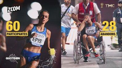 Zoom : hécatombe d'athlètes aux championnats de Doha