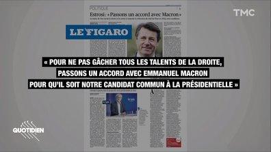 En appelant à un accord avec Emmanuel Macron, Christian Estrosi s'attire les foudres de la droite